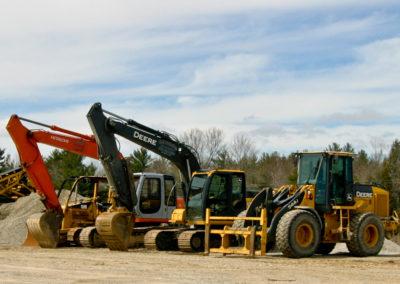 Loader, Excavator, Dozer