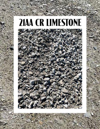 21aa crushed limestone