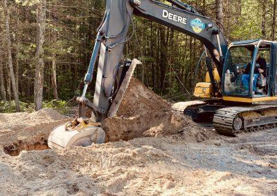excavator john deere 120d