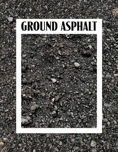 ground asphalt