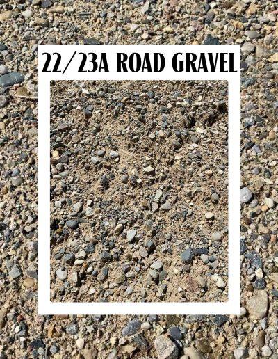 22a 23a road gravel